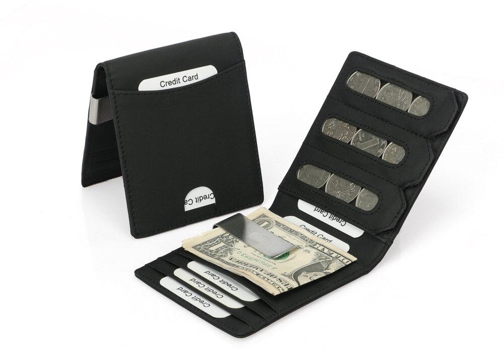nova moda caso de cartão de crédito mini carteira criativa