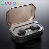 GeoFox wireless earphone Bluetooth Earbuds In Ear Stereo Sound Sport Earphone i7s tws For Samsung Iphone