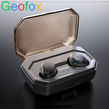 GeoFox wireless earphone Bluetooth Earbuds In-Ear Stereo Sound Sport Earphone i7s tws For Samsung Iphone geofox wireless earphone bluetooth earbuds in ear stereo sound sport earphone i7s tws for samsung iphone