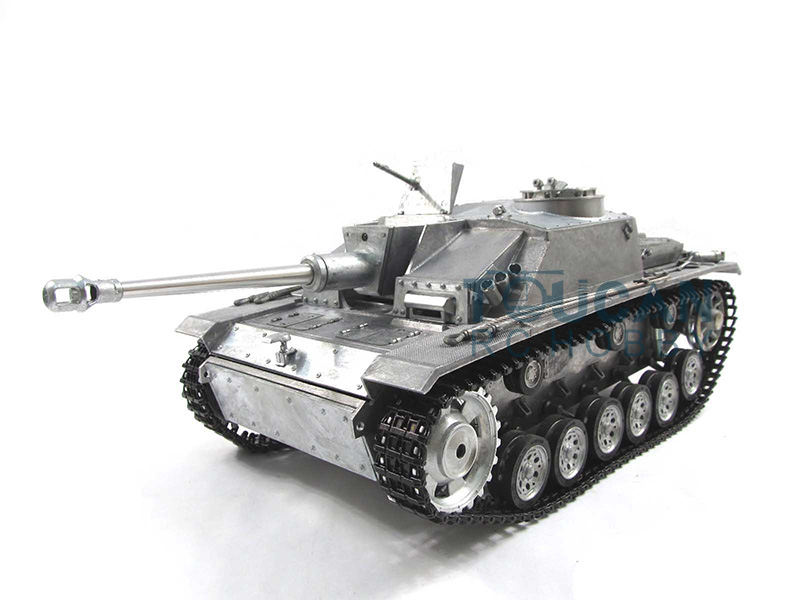 100% Metal Mato 1/16 Stug III RTR RC Tank Infrare Barrel Recoil Metal Color 1226 mato sherman tracks 1 16 1 16 t74 metal tracks