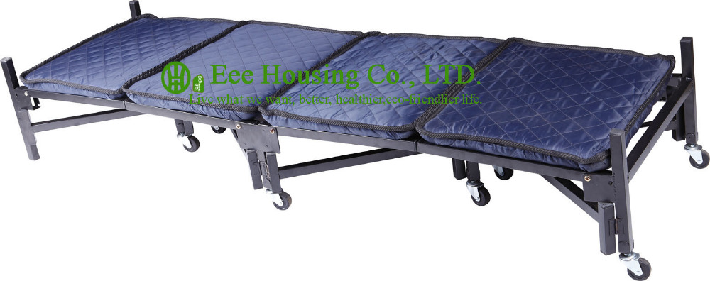 2016 Hotsale Four Layer Folding Metal Bed
