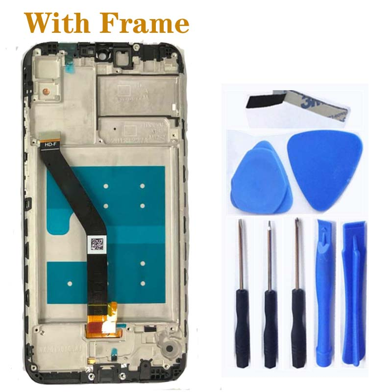 Image 5 - 6.01'' new LCD For Huawei Y6 PRO 2019 Y6 Prime 2019 LCD touch screen digitizer Assembly for Y6 2019 display Repair kit-in Mobile Phone LCD Screens from Cellphones & Telecommunications
