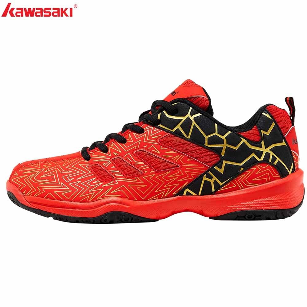 2019 Kawasaki sport homme Sneakers chaussures de Badminton Zapatillas caoutchouc Anti-glissant chaussure de sport de cour intérieure pour hommes femmes K-075 - 2