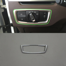 Car Accessories Interior Decoration ABS Head Lamp Adjustment Buttons Cover Trim For BMW X1 2016 Car-styling car accessories interior decoration abs head lamp adjustment buttons cover trims for toyota land cruiser 2016 car styling