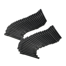 50pcs Black Disposable Tattoo Pigment Ink Mixer Stirring Rods for Microblading Tattoo Coloring Machine