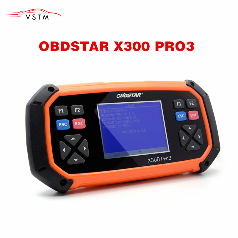 New OBDSTAR X300 PRO3 Key Master OBDII X300 Key Programmer Odometer Correction Tool EEPROM/PIC English Version Update Online-in Auto Key Programmers from Automobiles & Motorcycles