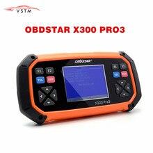 Nueva OBDSTAR X300 PRO3 Llave Maestra OBDII X300 programador clave odómetro, herramienta de corrección EEPROM/PIC versión en inglés actualización en línea