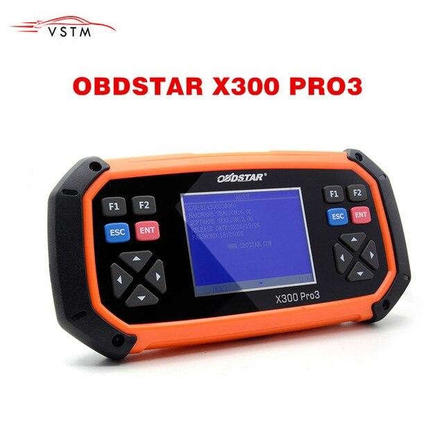 جديد OBDSTAR X300 PRO3 مفتاح ماستر OBDII X300 مفتاح مبرمج عداد المسافات أداة تصحيح EEPROM/الموافقة المسبقة عن علم النسخة الإنجليزية تحديث على الانترنت