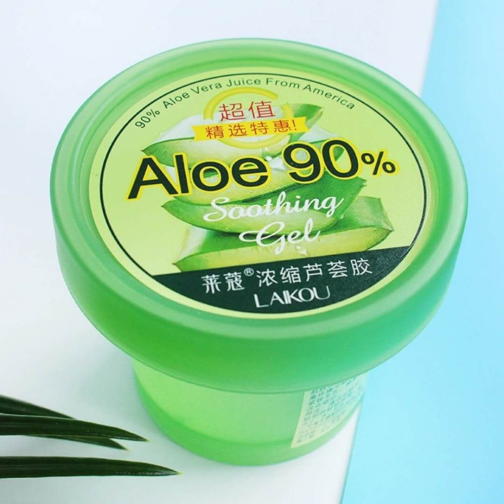 LAIKOU Natural Aloe Vera Gel Wrinkle Removal Moisturizing Acne Treatment Scar After Sun Lotions Day Cream Skin Care 120g