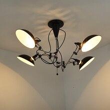 modern suspension luminaire industrielle ceiling chandelier lights lustre nordic design avize salon home lighting lustres