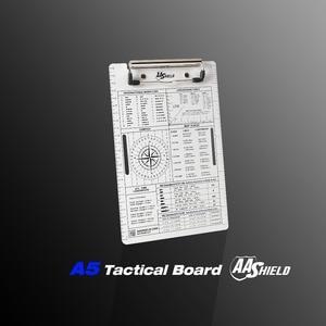 Image 5 - AA Shield A5 Office File Clip Aluminum Board Pad Waterproof Notebook A5 Kit