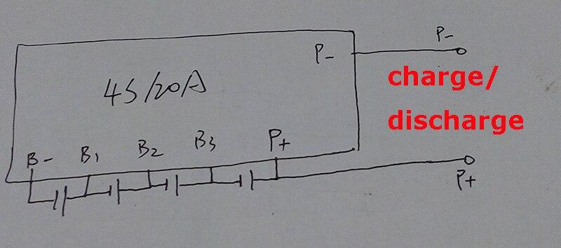 2 STÜCKE/viel 4 S 20A LiFePO4 BMS/PCM/PCB batterie schutz bord für 4 ...