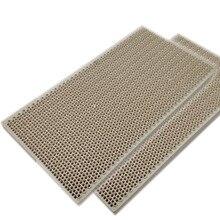 MENSI Пропан LPG газовый нагревательный прибор части горелки сотовая керамическая пластина 145*75*14 мм Высокая эффективность горения 3 шт
