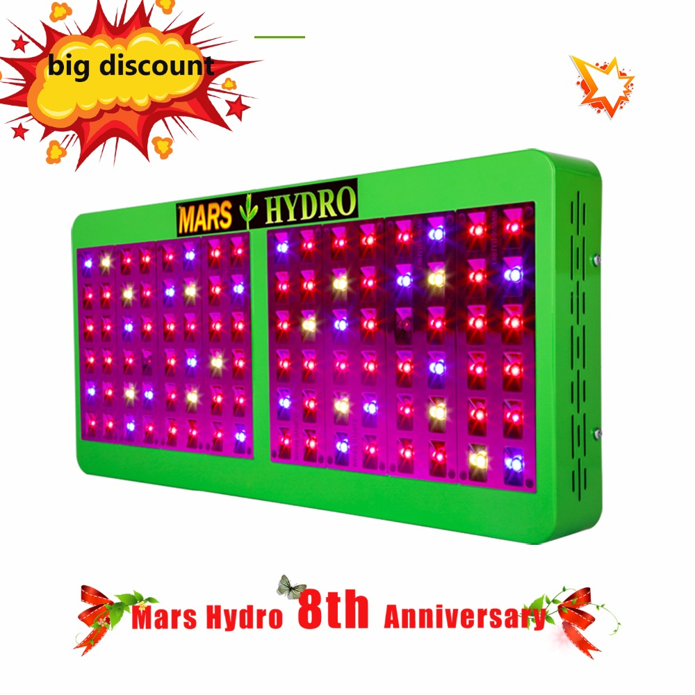 все цены на  Mars Hydro Reflector 480W Led Grow Light Full Spectrum Grow Lights for Indoor Garden  онлайн
