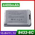 6 celdas 10.8 v batería del ordenador portátil para apple ibook g3 12 a1008 a1061 m8403 m8433 m8433g/b m8626g/a m8956 m9008 m9184 m9337