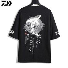 2019 DAWA Exclusive Debut Quick Dry Fishing Jersey Short Sleeve Clothing Purified Cotton Anti-UV T-Shirt