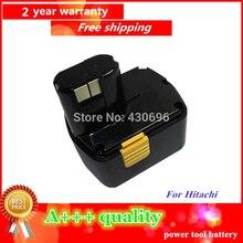 NUEVA 14.4 v 2.0Ah Ni-cd Reemplazo de herramientas de alimentación batería para HITACHI 322435 EB1412S; 324367 EB1414S; 315129 EB14B; 318371 EB1430H