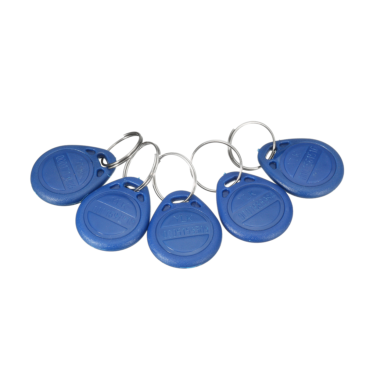5Pcs ID Keyfbobs RFID Tag Key Ring Card 125KHZ Proximity Token Access Control Attendance TK4100 5pcs lot free shipping outdoor 125khz em id weigand 26 proximity access control rfid card reader with two led lights