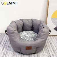 New Cat Sleeping Cave Comfortable Warm Bed For Puppy Pet Lovely Soft Bed Cat Dog House Pet Products House for cat