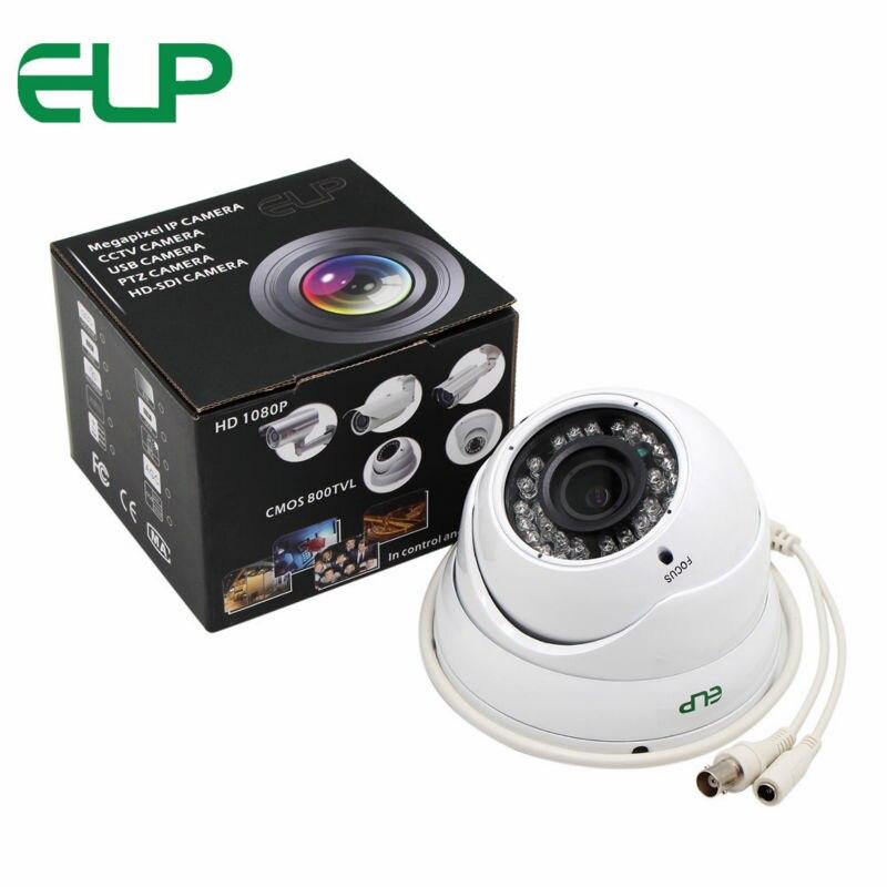 AHD Camera 960P High Definition Analog Camera Night Vision 2.8-12mm varifocal lens dome camera ELP-5120HD 4 in 1 ir high speed dome camera ahd tvi cvi cvbs 1080p output ir night vision 150m ptz dome camera with wiper