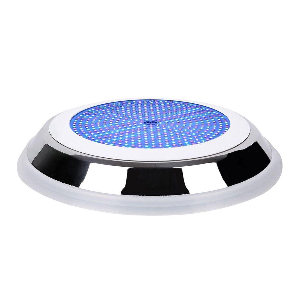 18 w Inoxydable + PC Rempli LED Piscine Lumières RGB Multi-couleur 12 v