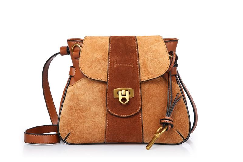 Fashion matte split cow leather stitching saddle bag special style women's shoulder crossbody bag women messenger bags #Q0849 все цены