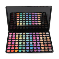 96 Color Eyeshadow facile da Ware Bellezza Cosmetici Mineral Make Up Shimmer Naturale Pigmento di Trucco Eye Shadow Palette Kit