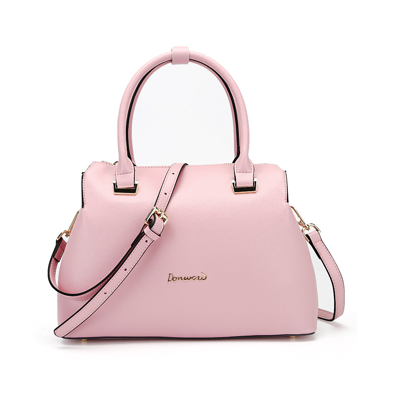 Modetrend tas veelzijdige effen kleur handtas eenvoudige grote capaciteit schouder Messenger tas thule tas 115b blue