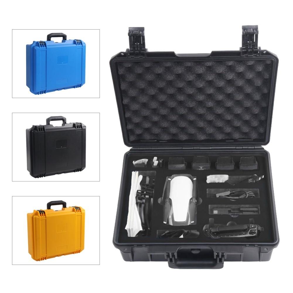 Hard Shell Safety Transportation Box Case for DJI Mavic Air Drone Accesssories Mavic Air Carry Case Storage Bag цена 2017