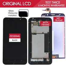 5.5 INCH 100% Tested Original 1920×1080 Display For ASUS Zenfone 2 ZE551ML LCD Touch Screen Digitizer Assembly with Frame