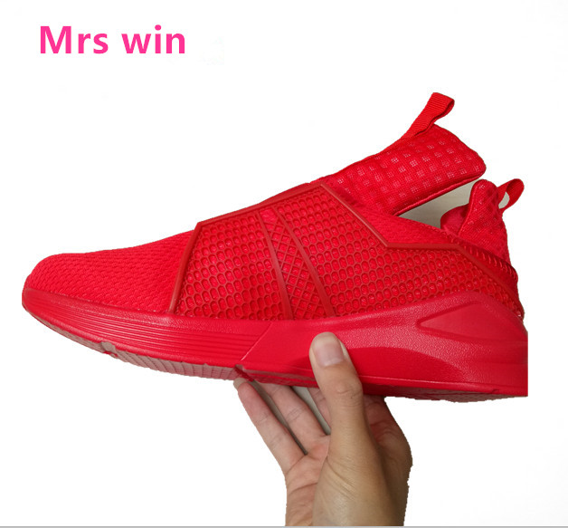 2017 men sneakers outdoor sports shoes breathable mesh running shoes White, red, blue, black free shipping size 40-45