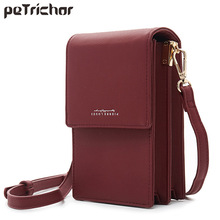 Brand Designer Mini Women Shoulder Bags PU Leather Phone Crossbody Bag Ladies Purse Zipper Clutch Female Small Messenger Bag NEW