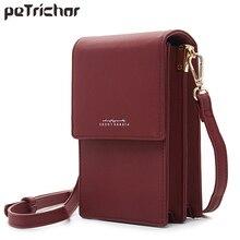 Marke Designer Mini Frauen Schulter Taschen PU Leder Telefon Crossbody tasche Damen Geldbörse Zipper Clutch Weibliche Kleine Umhängetasche NEUE