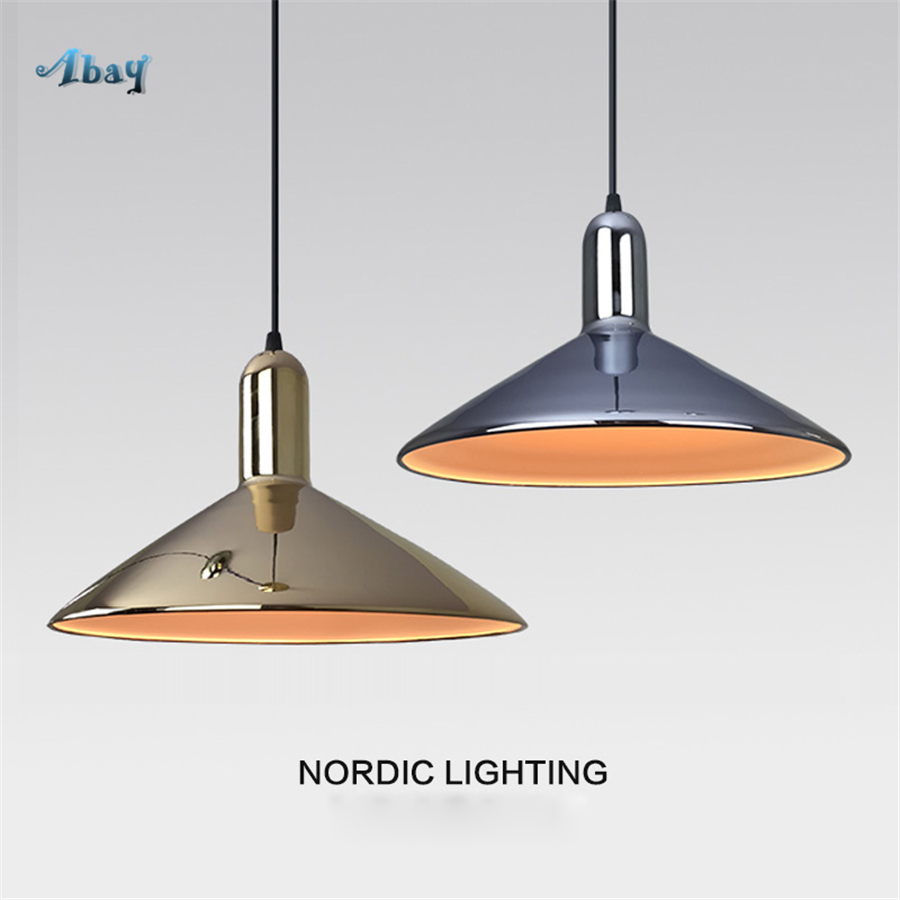 Nordic Modern Metal Multiple Shapes Pendant Lights Minimalist Home Decor for Bedroom Bar Living Room Led Light Gold Hanging LampNordic Modern Metal Multiple Shapes Pendant Lights Minimalist Home Decor for Bedroom Bar Living Room Led Light Gold Hanging Lamp