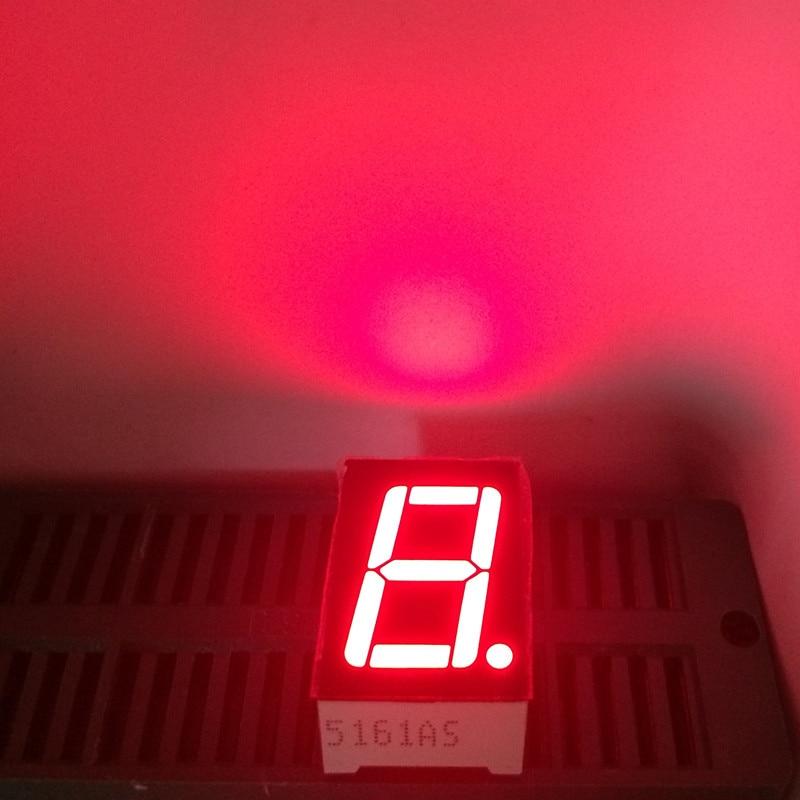 100Pcs 1digit 7segment 0.56inch Common Anode Cathode Display 0.56 LED 7Segment Number Display 1Bit 0.56
