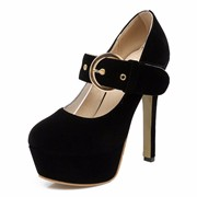DoraTasia-2017-Big-Size-32-43-Super-High-Heel-Women-Pumps-Thick-Platform-Shoes-Woman-Buckle