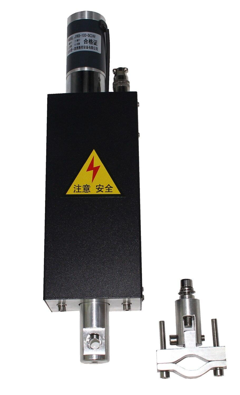 Plasma Flamme CNC Schneiden Maschine Schneiden Taschenlampe Halter Z-achse Heber 100mm DC24V