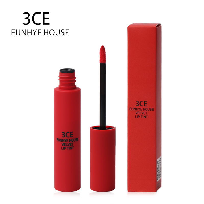 3CE Eunhye House Lipstick Makeup Lip glaze Matte Moisturizer Nutritious Long lasting Easy to Wear Waterproof 10 color to choose