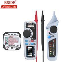 купить BSIDE ADM92CL Color Display Digital Multimeter True RMS Auto Range 6000 TRMS Tester with Live Wire Check Temp Diode Meter Kit по цене 989.31 рублей