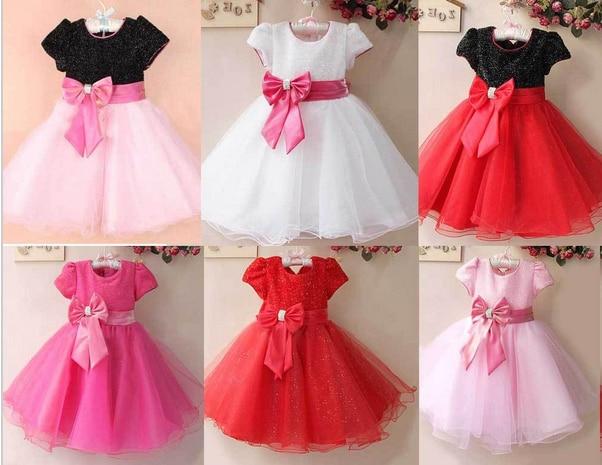 2014 New Summer Flower Girl Dresses For Party Wedding