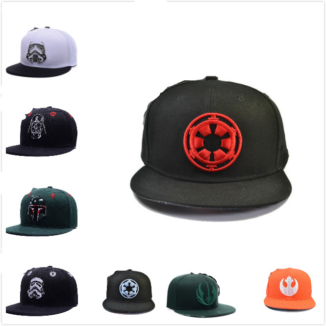 Star Wars Cosplay Cap Boys Mens Snapback Caps Fashion Baseball Hat