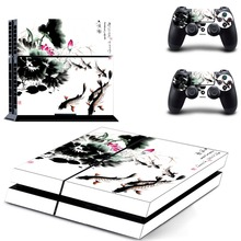 Game Bloodborne PS4 Skin Sticker Decal Vinyl for Sony Playstation 4 Console and Controller PS4 Skin Sticker