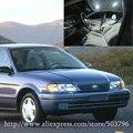Envío Gratis 2 unids/lote Blanco Interior Del Coche de 12 voltios Luces LED Para Toyota Tercel 1995-1999