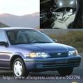 Free Shipping 2pcs/lot White 12 volt Interior Car LED Lights For Toyota Tercel 1995-1999