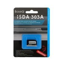 "BASEQI Aluminium MiniDrive Micro SD Card Reader Dla Macbook Pro Retina 13 ""Model Memory Card Adapter 303A"