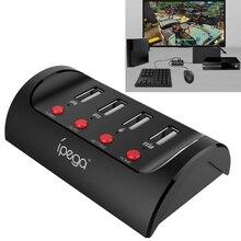 Конвертер клавиатуры и переходник для мыши для PS4 Playstation 4 P4/ Xbox One 1/Nintendo Switch NS консоль для игр в игры FPS