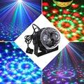 5 w rgb led crystal magic ball efecto luz de la etapa de voz automático DMX de Control de Lluvia de Estrellas Láser Proyector Del Partido Del Disco de DJ Del Club KTV lámpara