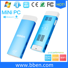 Bben mini pc Windows10 atom fan mini computer bluetooth pc desktop computer RAM/ROM 2GB/32GB android tv box windows mini intel