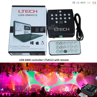 LTSA512 USB DMX Master Controller DC5V USB Power Input 1024 Channel Output DMX512 Master LTECH Led
