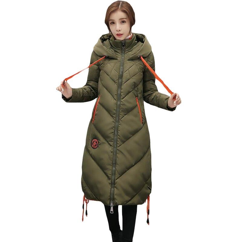 2017High Quality Hooded Long Women Winter Jackets Outerwear Fashion Slim Cotton Padded Coats Chaquetas Warm Parka Feminina XH470 монитор acer predator xb271hbmiprz